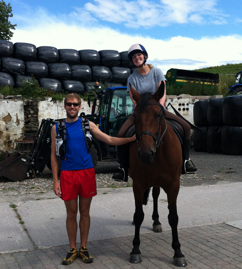 Horse trekking in the Lake District
