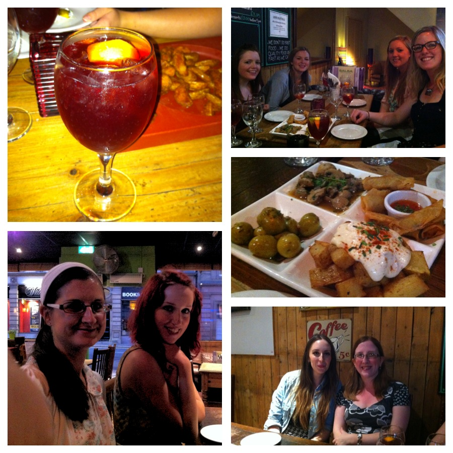 Tapas at Salsa Cafe Newcastle