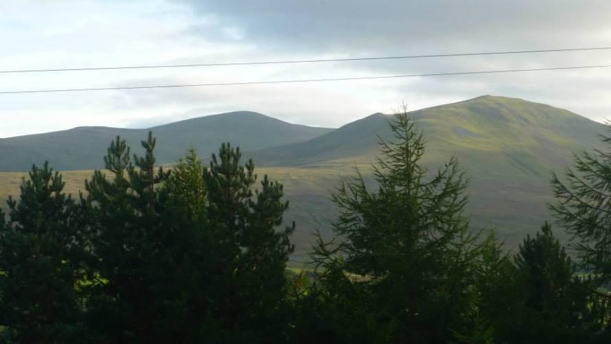 c2c view of Skiddaw