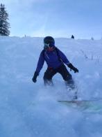 Les Gets Snowboarding