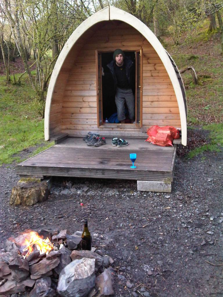lake district camping pod