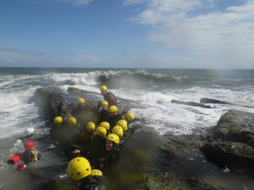 coasteering in northumberland