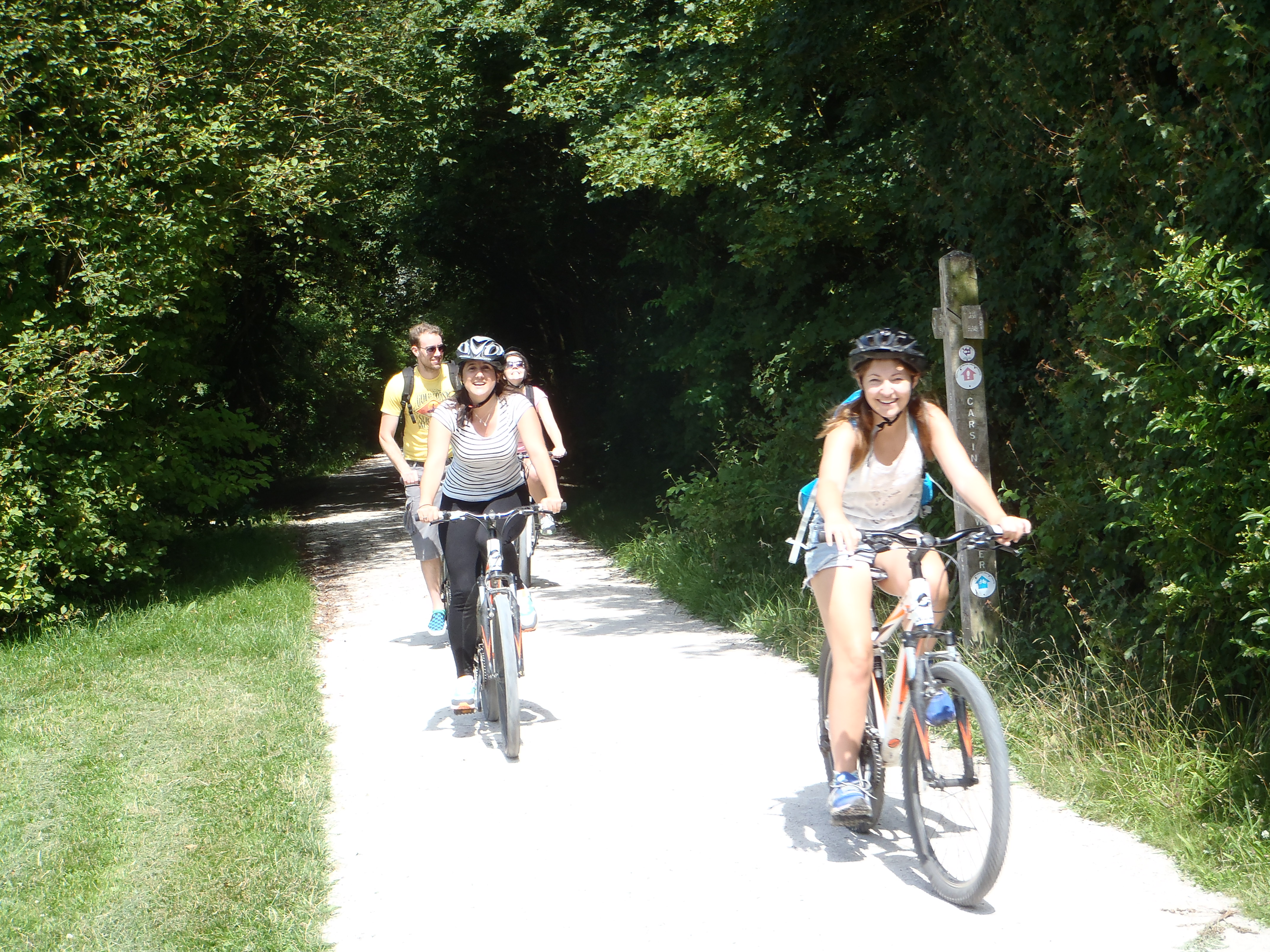 Bike ride Carsington Waters
