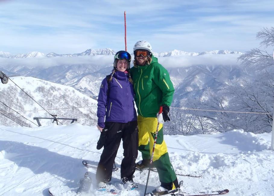 beautiful day in Cortina japan