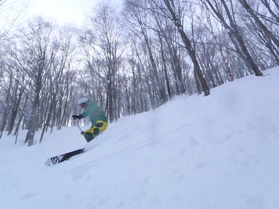 skiing in japan - cortina